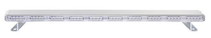 1480mm 12 24volt LED varsellysbjelke m bolt feste Oransje