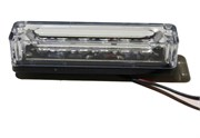 Oransje LED modul for TBD6828 lysbjelker